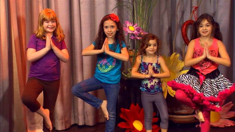 Kids Yoga with Bari Koral Dancing Bear