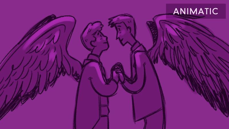 Good Omens Animatic - All I Want (Ineffable Husbands)