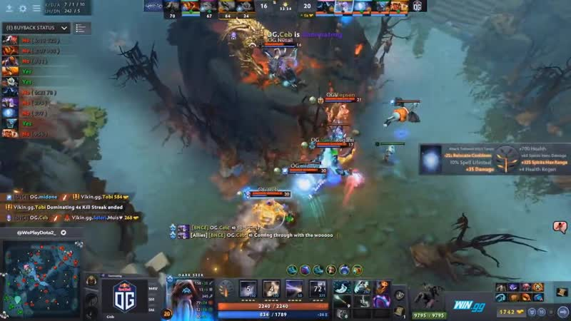 Best Plays Europe Immortal OMEGA League Dota 2 Day 1