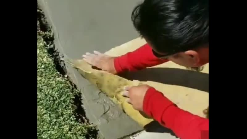 Крутая реставрация дорожки под природный камень 😊✌🏻