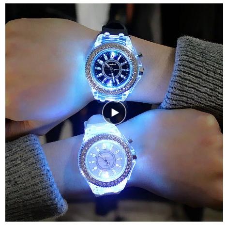 Светящиеся часы
