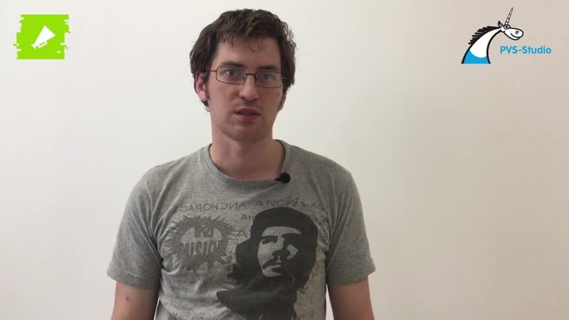 QA — Александр Сеничкин, Разработчик в PVS-Studio