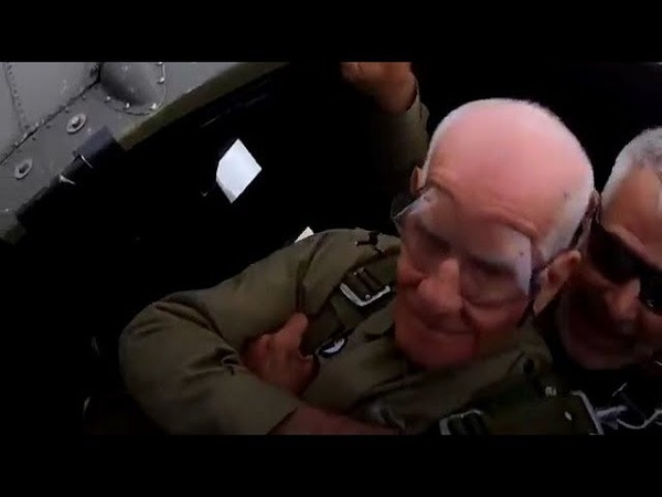 97-Year-Old Veteran Recreates D-Day Jump 75 Years Later