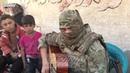Syria Russian solder sings 'Zaz Je veux' in Deir ez Zor Русский солдат в Дейр эз Зоре online vi