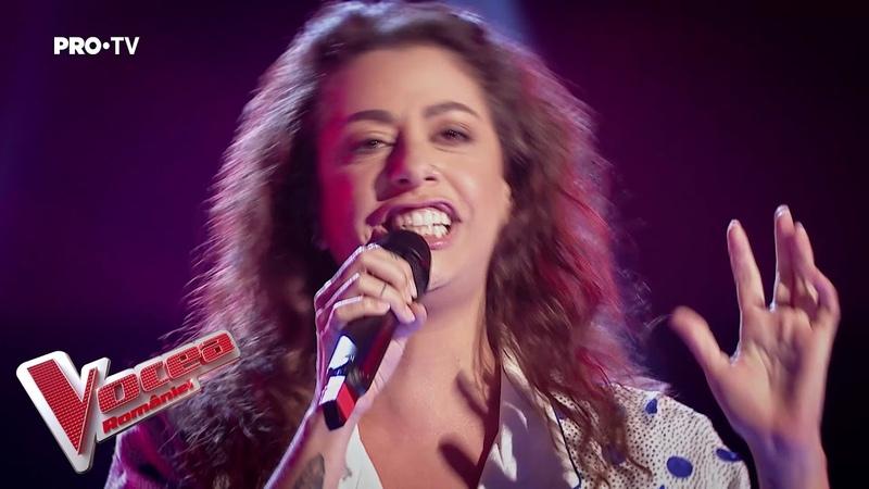 Renee Santana - Thank U | Auditiile pe nevazute | Vocea Romaniei 2019