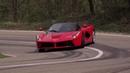 Ferrari LaFerrari Supercar Drifting Mode and Big Burnout