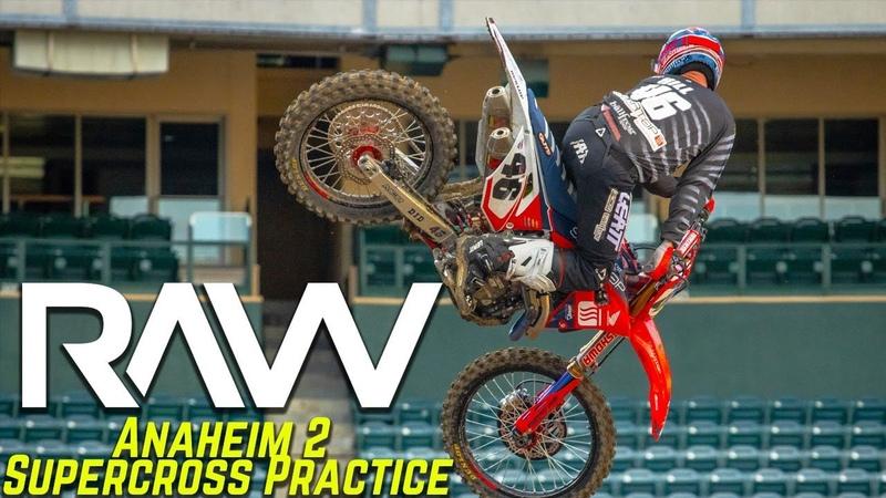Anaheim 2 Supercross Practice RAW Motocross Action Magazine
