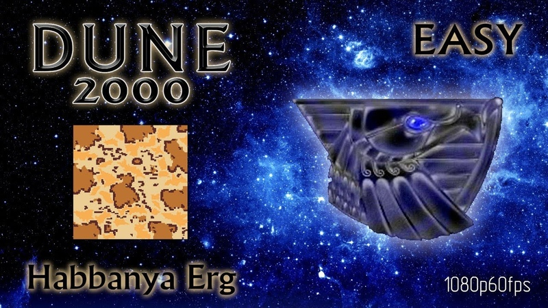 Dune 2000 Skirmish Habbanya Erg Atreides Easy 1080p60fps