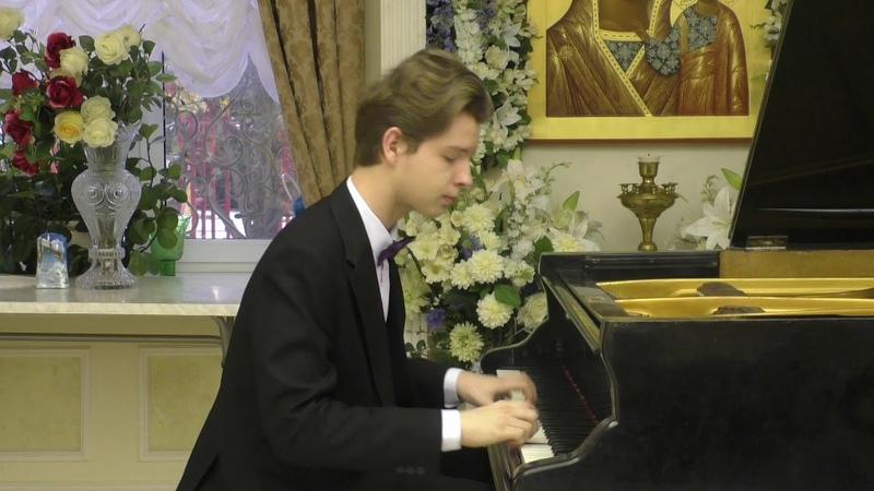 P. Tchaikovsky – M. Pletnev. Nutcracker Suite. Andante maestoso – Vitaly Petrov, 16 y.o.