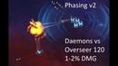 VEGA Conflict PVE Daemons vs Umbra Overseer 120, phasing v2. 1-2%