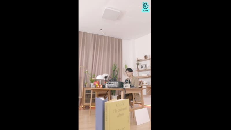 [VIDEO] 191001 Chen @ V Live: Dear FM, To The One I Love
