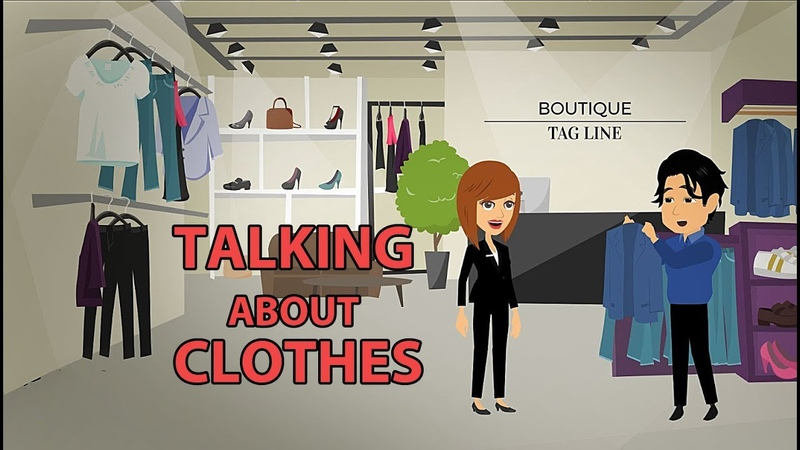 Talking about Clothes in English