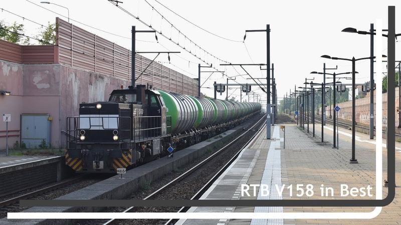 RTB V158 komt met Pannonia keteltrein door Best