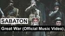 SABATON - Great War (Official Music Video)
