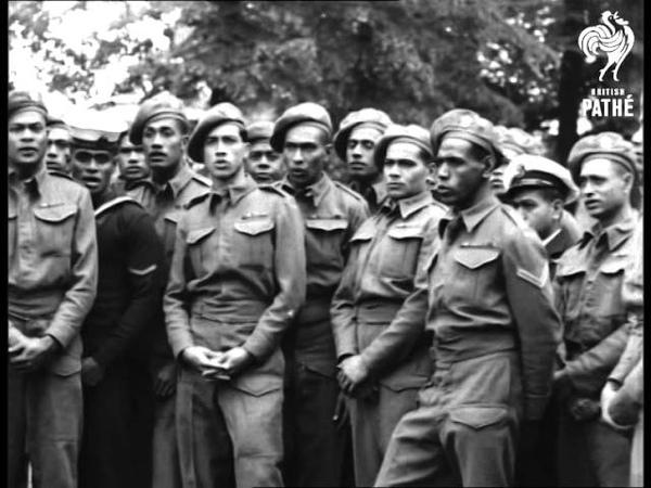 Fiji Soldiers Singing (1946)