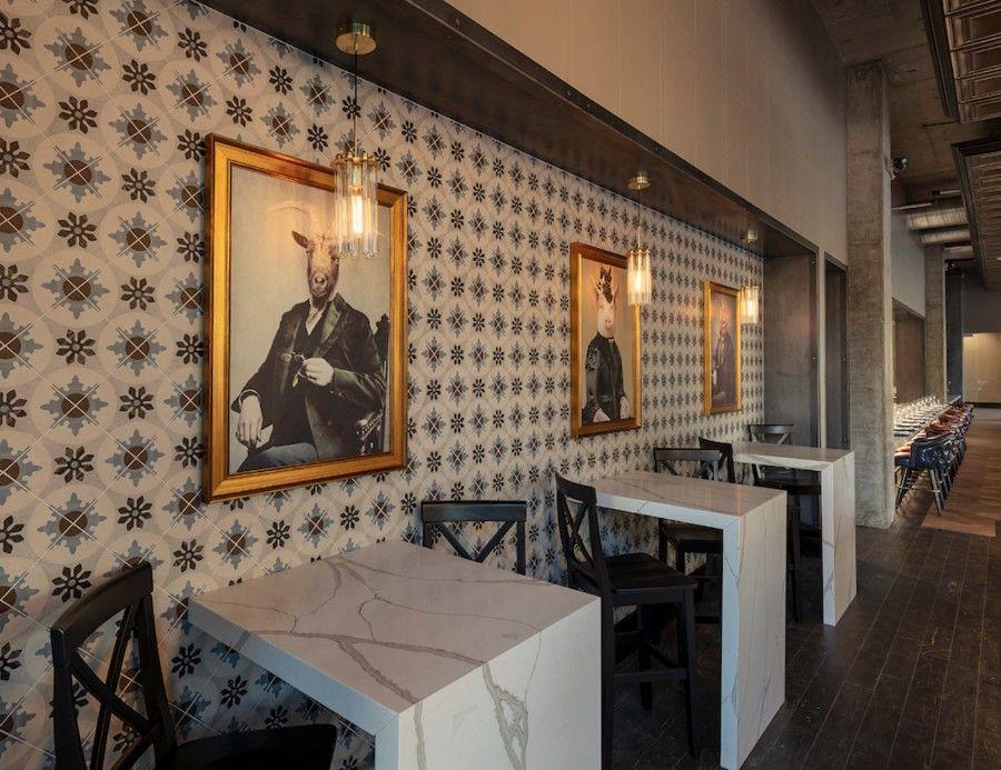 Ресторан «с британским акцентом» в Калифорнии