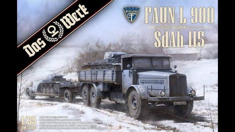 Update Part 2 on the Das Werk 135 Faun L900 with trailor