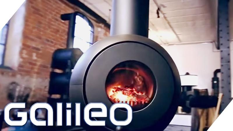 Kochen Backen mit einem Ofen Allrounder Ofen Firetube Galileo ProSieben
