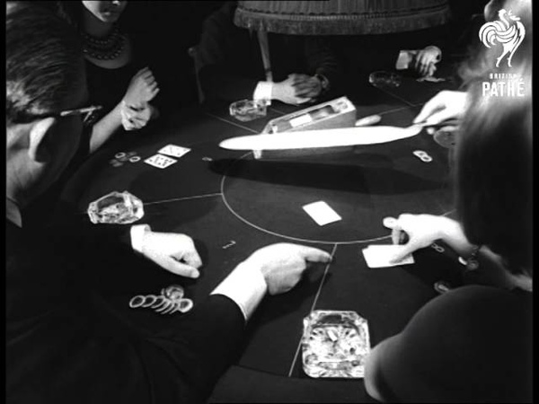 School For Gamblers In Knightsbridge 1965