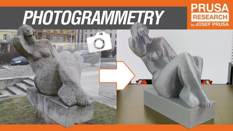 Photogrammetry 3D scan with just your phone camera