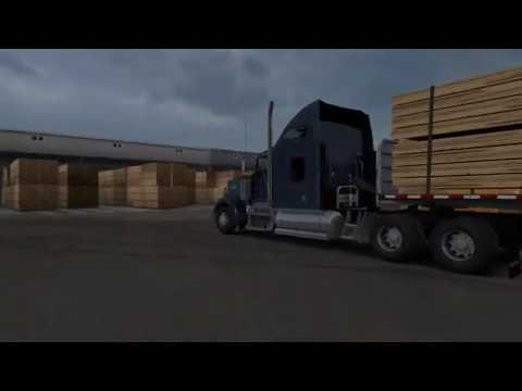 Kenworth W900 Driving to Oregon ATS 1 36