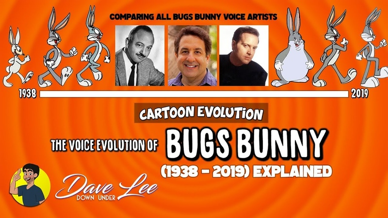 Voice Evolution of BUGS BUNNY Over 81 Years 1938 2019 Compared Explained