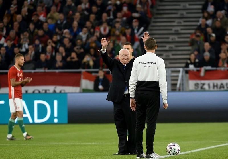 Симонян снова открыл стадион в Будапеште 66 лет спустя