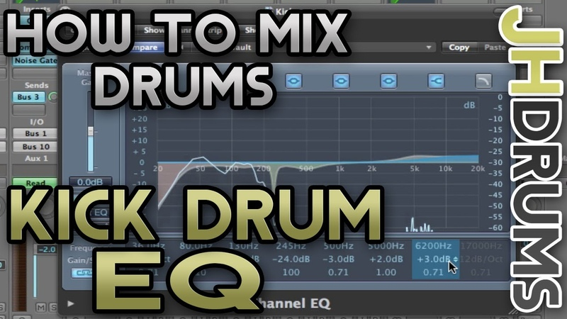 Kick Drum EQ - How To Mix Drums (Part 10) | by JHDrums