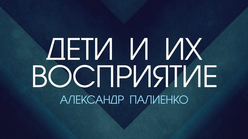 Дети и их восприятие Александр Палиенко