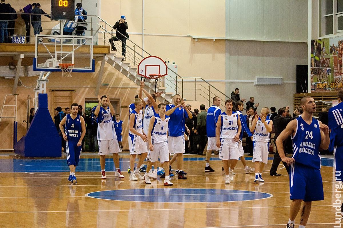 Алтайбаскет - Динамо Москва 24.11.2011