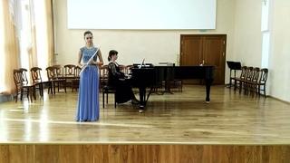 Paul Taffanel «Andante Pastoral et Scherzettino» Velikanova Ekaterina flute St-Petersburg