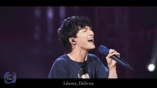 [周深 Zhou Shen] 20200104《Let it go》(九語版 9 Languages) Fancam HD 高清+字幕【C-929星球全国巡回演唱会 廣州站&#