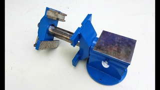 DIY Tool   Make A Twin Vise   Homemade Heavy Duty Vise