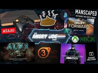 AJS News- Atari VCS Console Scam, Ubisoft Forward, Free Xbox Upgrades, Half-Life 3, Batman HBO Show?