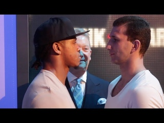 🦁THE BEAST!!! ANTHONY YARDE🦁 v RICHARD BIRANYI - OFFICIAL HEAD TO HEAD @ FINAL PRESS CONFERENCE