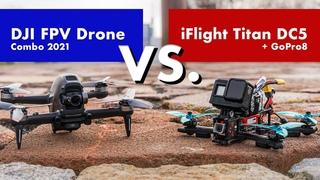 DJI FPV Drone vs. iFlight Titan DC5 + GoPro 8 with ReelSteadyGO (Footage Stabilization Comparison)