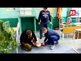 Спасательная служба Череповца впервые стала базой для практики будущих спасателей