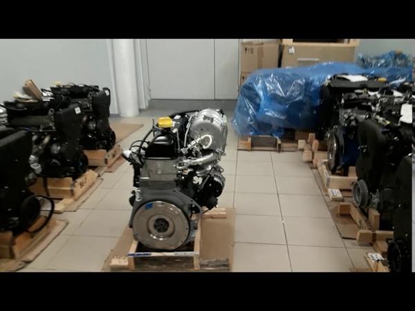 LADA УСПЕХ Новые Двигатели Конвейерного производства ПАО АВТОВАЗ