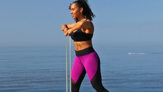 45 min Full Body Workout with Mini Bands