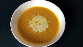 Суп - пюре тыквенный 🥥 с кокосовым молоком и имбирем, веганский