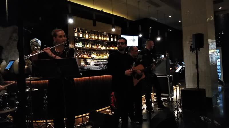 Хочешь Lounge band Avenue beat Выступление в ресторане Марани