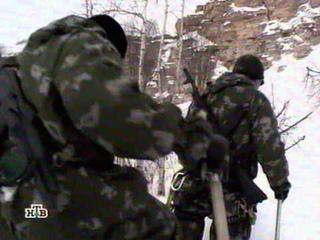 Военное дело. НТВ - Тренировка спецназа (война в горах)