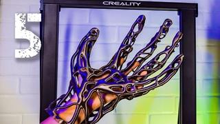 5 КРУТЫХ ВЕЩЕЙ НА 3D ПРИНТЕРЕ CREALITY CR-10 SMART