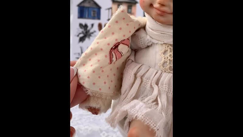 Авторская кукла Ефросинья