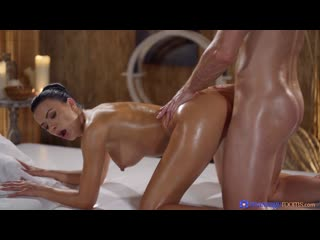 Massagerooms shalina devine oily cock massage with hot romanian [full hd 1080, all sex, squirting, czech, blowjob,big tits]