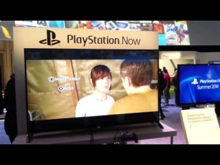 CES 2014- PLAYSTATION NOW Demonstration at Sony Booth