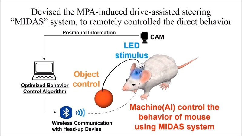 MIDAS System MPA Induced Drive Assisted Steering