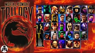 Mortal Kombat Trilogy / Sony Playstation / прохождение Scorpion (All Finishing Fatality) [60fps]