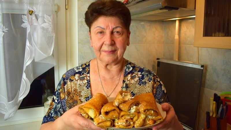 Рецепт Вкусных БЛИНОВ с Творогом Crepes With Cottage Cheese Recipe Мамины рецепты