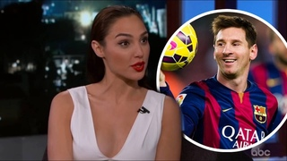 Lionel Messi being thirsted over by celebrities!!!(alex morgan, gal gadot)